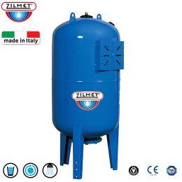 Δοχείο πιεστικών συγκροτημάτων κάθετο ZILMET ULTRA-PRO 200V 200 lit italy