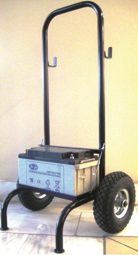Καρότσι μεταφοράς μπαταρίας